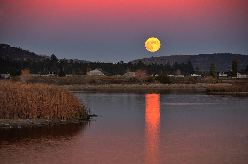 Choosing a place to build on lunar rhythms. Photos