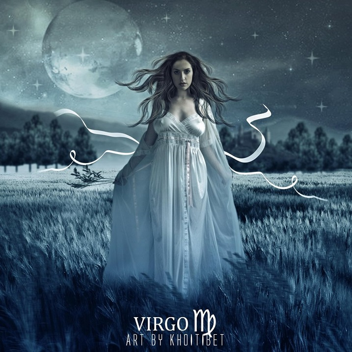 The psychological characteristic of the Moon Virgins. Images of the zodiac