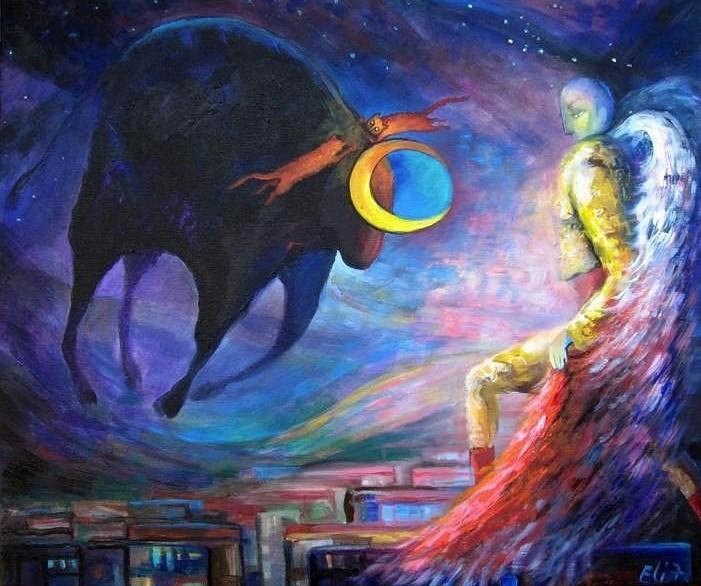 Иллюстрация к статье про Черную Луну в Тельце