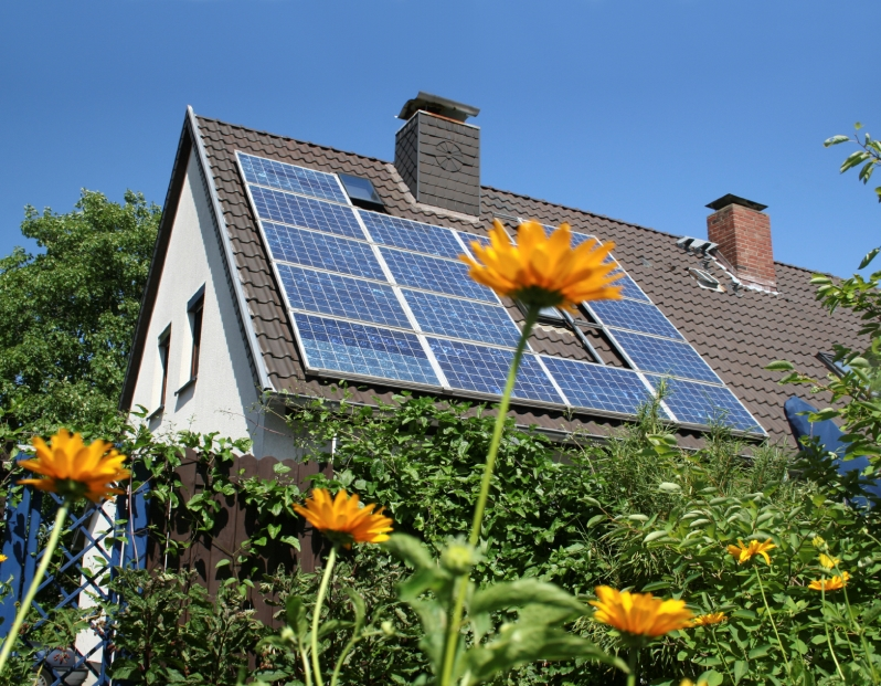 Ecod with solar panels. Photos