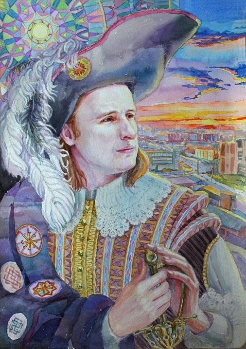 Портрет от художника сайта Дом Гармонии